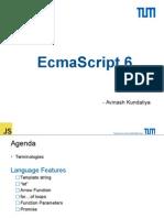 Javascript Es6 Presentation