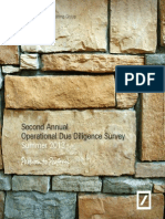 2013 Deutsche Bank Operational Due Diligence Survey