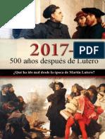 Folleto 500 Años Después de Lutero