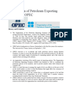 Organization of Petroleum Exporting Countries OPEC