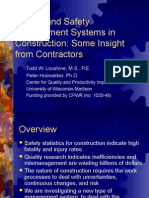 Safety Quality Construction