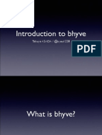 Introduction to Bhyve