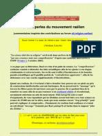 Les Perles de La Pseudo-science de La Secte Rael (Septembre 2005)