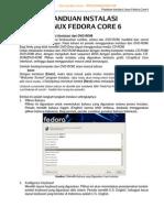 Panduan Instalasi Linux Fedora Core 6