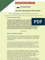 Secte Rael - Un Canular Pour Tous, Mais Pas Pour Claude Vorilhon