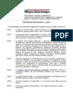 Ordinanza Balneare Regionale 2015