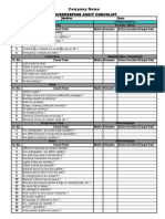 ADM FR 04 Housekeeping Checklist
