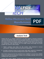 Online Electronic Instruments Manufacturers