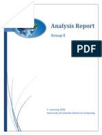 analysis report group e