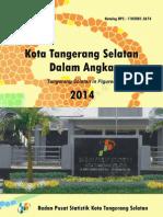 Kota Tangerang Selatan Dalam Angka 2014