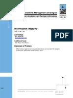Burton Information Integrity