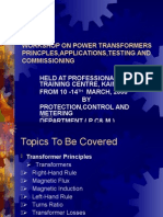 WORKSHOP ON POWER TRANSFORMERS 1.ppt