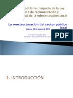 Ponencia Redimensionamiento Sector Público 2