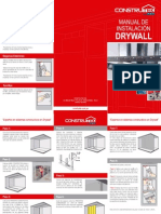 Manual de Instanacion Sistema Drywall