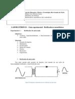 Eletrônica de Potência - Laboratório 01 - Retificadores Monofásicos Não Controláveis