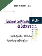 Modelos de Processos