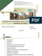 Selección Refractario para hornos de Cemento