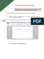 Como Utilizar a Assinatura Digital Em Um Documento Word Doc Ou