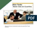 Cargar DTW SAP Release 9