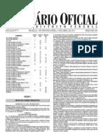 Decreto LIC - Lei de incentivo à cultura do DF