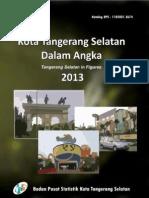 Kota Tangerang Selatan Dalam Angka 2013