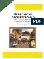 Libro el Proyecto Arquitectonico