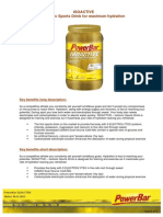Factsheet PowerBar Isoactive English
