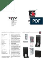 Zippo 2007 Spring Collection De