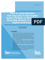 English-language Learner Proficiency Study