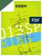 Zippo 2013 Spring Collection De