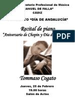 programa concierto tommasso