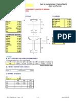 Prestressed-Precast Design Spreadsheet