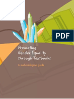 Promotin Gender Equality Through Textbooks