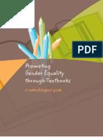Promotin Gender Equality Through Textbooks