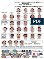 Semi-finalists of the 2015 Search for Outstanding Public Officials and Employees