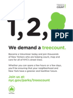Trees Count! 2015 Flyer