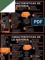 Caracteristicas de la historia