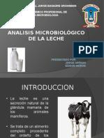 Analisis Microbiologico de La Leche-caceda