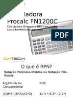 FN1200 Treinamento