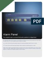 Alarm-Panel Datasheet A4