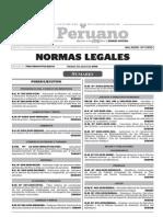 Boletín 07-08-2015 Normas Legales TodoDocumentos.info