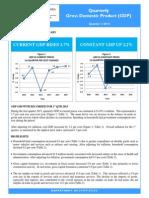 Quarterly GDP Publication - Q1 2015 FINAL