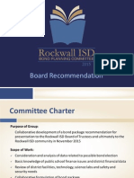 Rockwall ISD Bond Planning Committee