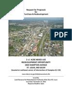 RFP 2020 Hampton Hampton at I-44 in the City of St. Louis, MO