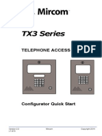 Mircom TX3-MSW User Manual