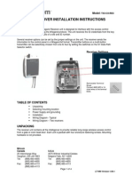 Mircom TX3-CX-REC User Manual