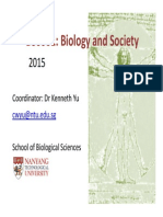 BS0001 (Yr2015) Course Overview