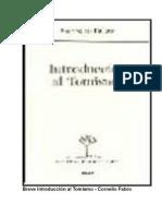 Breve Introducción Al Tomismo - Cornelio Fabro