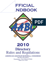 AABC 2010 Rules and Regulations Handbook)
