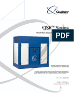 Quincy QSF Instruction Manual